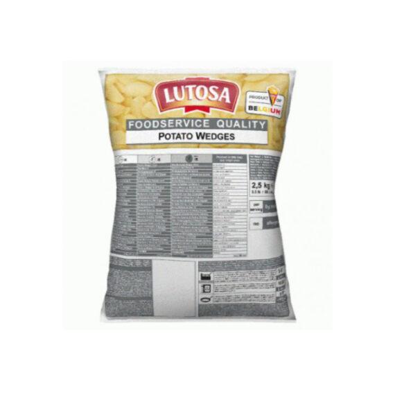 Patate Spicchi Lutosa kg.2,5