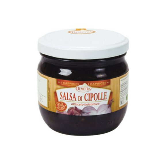 Salsa di Cipolle gr.430 vaso Demetra