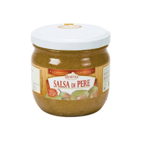 Salsa di Pere gr.450 vaso Demetra