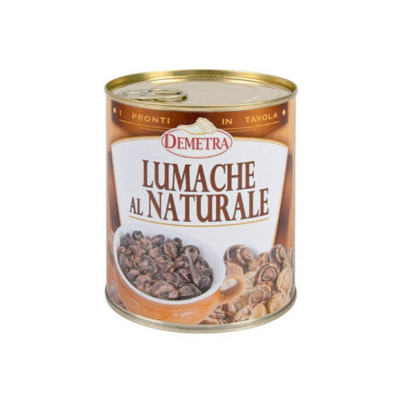 Lumache al Naturale g.850 latta Demetra