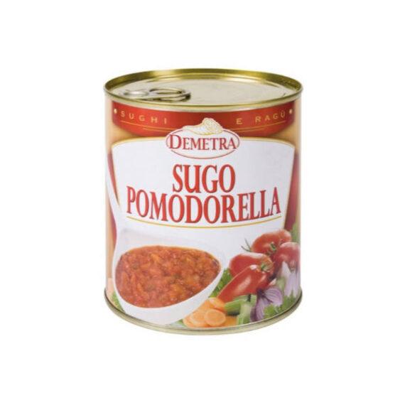 Sugo Pomodorella gr.830 Latta Demetra